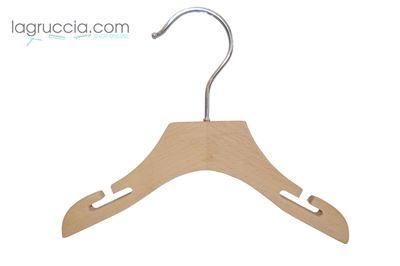 Grucce per Neonato in legno faggio cm 22 art.99054/22RBW