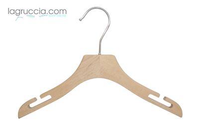 Gruccie per bambini in legno faggio cm 30 art.99054/30RBW