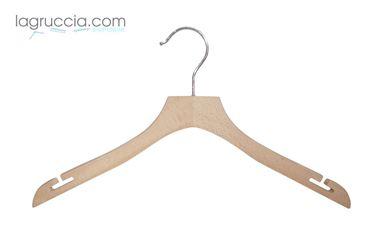 Grucce Uomo / Donna in legno faggio cm 42 art.99054/42RBW