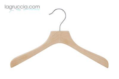 Gruccia in legno faggio Donna cm 38 art.99058/38RBW